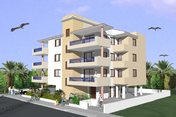 3 bed apartments in Limassol