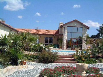 Three bedroom villa with it's own swimming pool for sale in Pyrgos, near Limassol, Cyprus