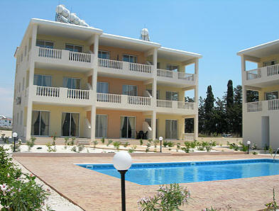2 bed apts in Paphos