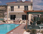 House with swimming pool for sale in Larnaca